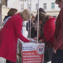 Prikupljanje potpisa (Foto: Dnevnik.hr)