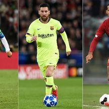 Ronaldo, Messi i Van Dijk (Foto: AFP)