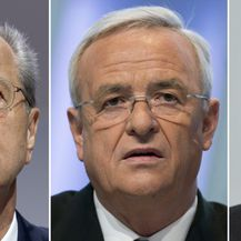 Izvršni direktor Volkswagena Herbert Diess, bivši šef tvrtke Martin Winterkorn i šef Nadzornog odbora Hans Dieter Pötsch (Foto: Arhiva/AFP)