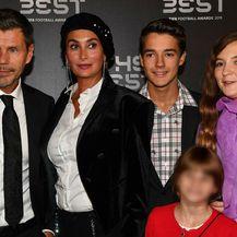 Zvonimir Boban s obitelji (Foto: AFP)
