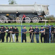 Navijači na utakmici Karlovac - Dinamo (Foto: Josip Regovic/PIXSELL)