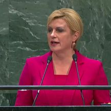 Kolinda Grabar-Kitarović (Screenshot: UN TV)
