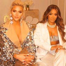 Khloe Kardashian i Malika (Foto: Instagram)