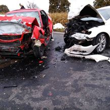Teška nesreća kod Đurđevca (Foto: epodravina.hr)