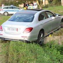 Mercedesom sletio u kanal (Foto: Požega.eu) - 4