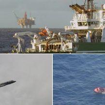 Potraga za posadom potonulog tegljača (Foto: AFP, Marine Nationale)