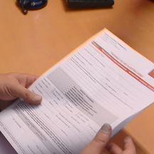 Papiri u banci (Foto: Dnevnik.hr)