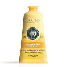 L'Occitane SOS maska za sjaj kose obogaćena s 5 esencijalnih ulja, ekstraktom limuna i šećerne trske, 77,12 knj