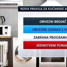 Nova pravila za kućanske aparate