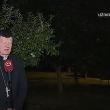 Mons. Ante Jozić i Mario Jurić - 1