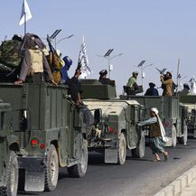 Mimohod talibana u Kandaharu, ilustracija