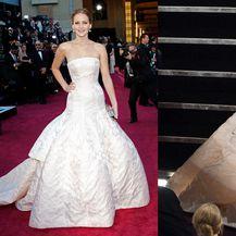 Zbog nespretnosti i duge haljine Jennifer Lawrence pala je na Oscarima 2013. godine