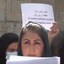 Prosvjed afganistanki - 2