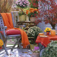 Uredite balkon za jesen