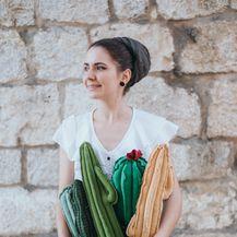 Marta Lučin iz Trogira izrađuje kaktuse od recikliranih materijala i odbčenih predmeta - 4