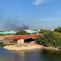 Požar u Zagrebu