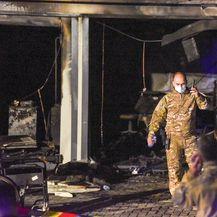 Požar COVID bolnice u Makedoniji - 1