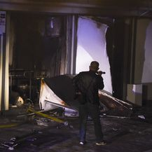 Požar COVID bolnice u Makedoniji - 2
