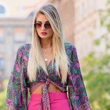 Street style kombinacija lijepe Lore