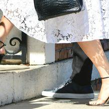 Jennifer Lopez nosi štikle s izrazito tankom potpeticom