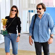 Penelope Cruz i Javier Bardem na odlasku iz Venecije