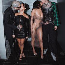 Kourtney Kardashian, Travis Barker, Megan Fox i Machine Gun Kelly