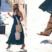 Jennifer Aniston u YLS sandalama naglašenog špica