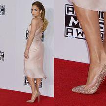 Prevelike cipele na crvenom tepihu nosila je i Jennifer Lopez