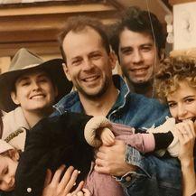 Demi Moore, Bruce Willis, John Travolta i Kelly Preston
