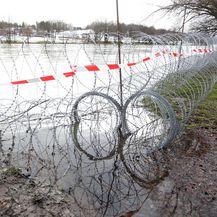 Žilet žica na hrvatsko-slovenskoj granici - 2
