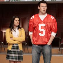 Cory Monteith i Lea Michele