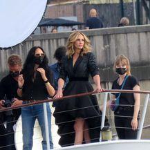 Julia Roberts u Parizu na snimanju reklame za Lancome - 1