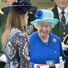 Princeza Beatrice i kraljica Elizabeta