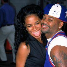 Aaliyah i Damon Dash
