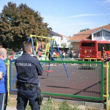 Autobusom uletio na dječje igralište - 1