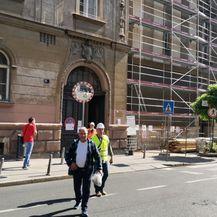 Miniranje crkve u centru Zagreba