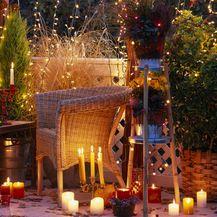 Večernja atmosfera na balkonu u jesen - 4