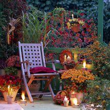 Večernja atmosfera na balkonu u jesen - 6