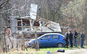 Eksplozija urušila kuću kod Ludbrega (Foto: Vjeran Zganec-Rogulja/PIXSELL)