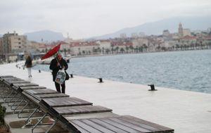 Južina u Splitu (Ilustracija: Ivo Cagalj/PIXSELL)