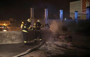 Zapaljeni auto/Ilustracija (Foto: Filip Brala/PIXSELL)