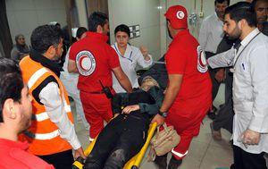 Ozlijeđeni u napadu (Foto: AFP)