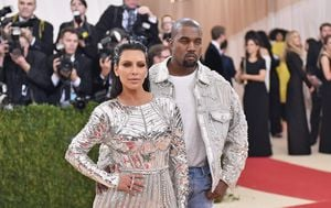 Kim Kardashian, Kanye West (Foto: Getty Images)
