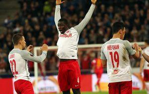 Salzburg slavi pobjedu protiv Lazia (Foto: AFP)