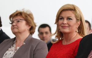 Nada Murganić i Kolinda Grabar Kitarović (Foto: Arhiva/Igor Soban/Pixsell)