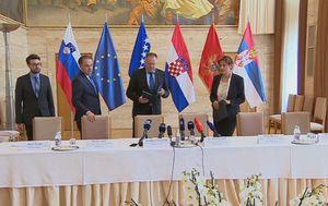 Sastanak oko Agrokora na Bledu (Foto: Dnevnik.hr)