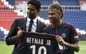 Nasser Al-Khelaifi i Neymar (Foto: AFP)