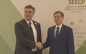 Andrej Plenković i Miro Cerar (Foto: Dnevnik.hr)