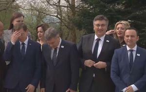 Došaptavanja ministrice Joksimović i Plenkovića (Foto: Dnevnik.hr) - 1