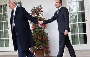 Prisnost Donalda Trumpa i Emmanuela Macrona koja je mnogima zapela za oko (Foto: Getty Images) - 4